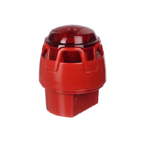 Ārējā sirēna ar LED stroblampu CWSS-RB-W7, IP67
